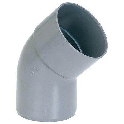 COUDE PVC MF D. 40 45D (Vendu par 10)
