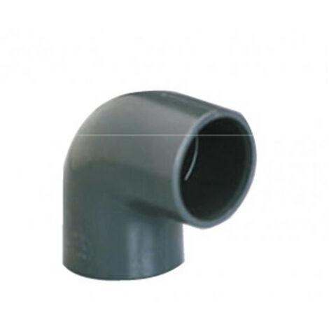 Coude simple 90° PVC pression FF - plusieurs modèles disponibles