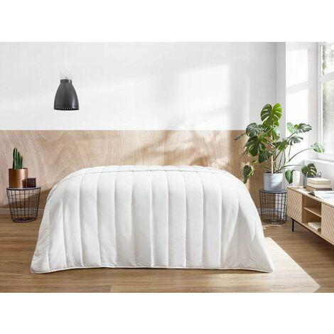 Couette 220x240 antiallergique - Blanc