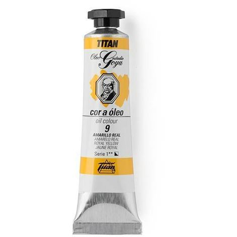 Couleurs Jaunes Huile Goya Titan
