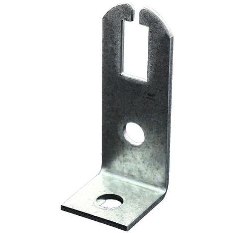 Coulisseau pour attache de suspente de plafond suspendu 19x60 mm, boîte de 100 pièces.