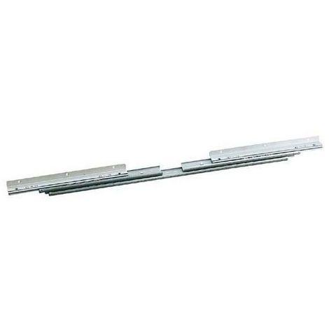 Coulisses de table - a billes - ouverture centrale - Ouverture : 1004 mm - Longueur : 700 mm - ITAR
