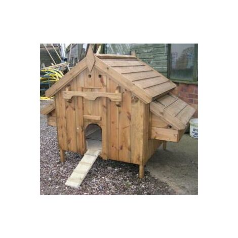 Country chicken coop - For up to 6 Hens