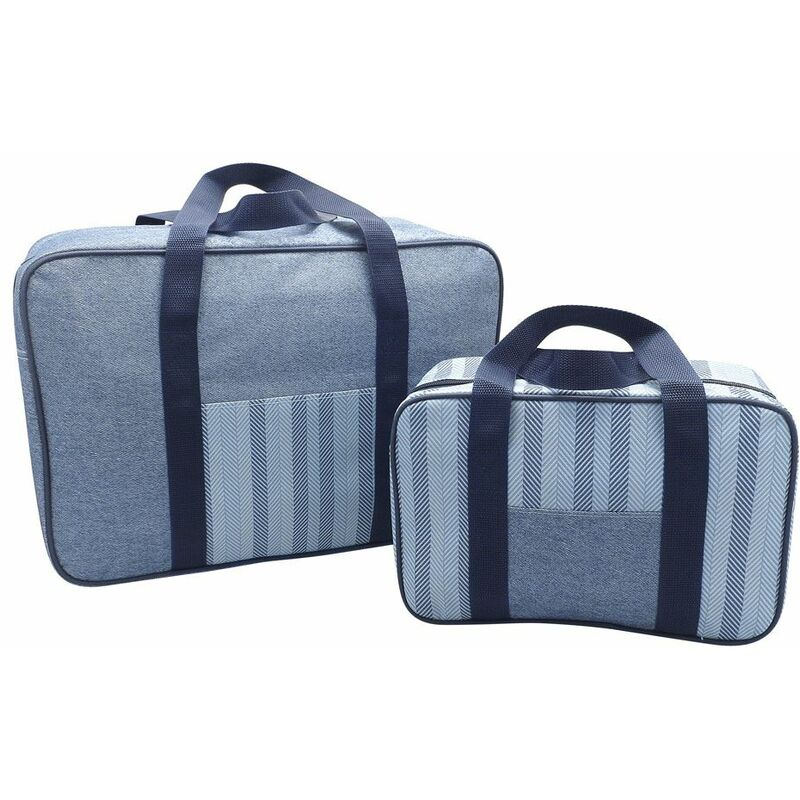 Image of Country Club 2 Pack Cooler Bag Set Denim - BEAMFEATURE