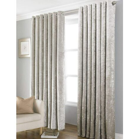 """Country Club Bliss Natural Curtains 66 x 90"""""""