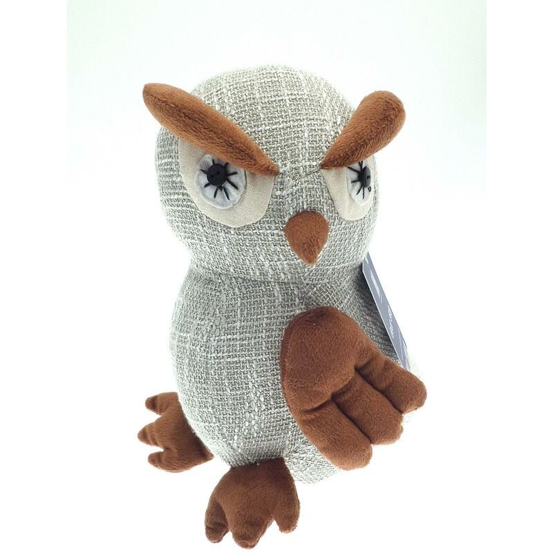 Image of Country Club Owl Door Stop Novelty Freestanding Weighted Home Office New