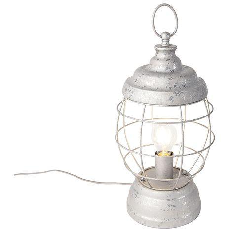 Country Table Lamp Grey - Lentera