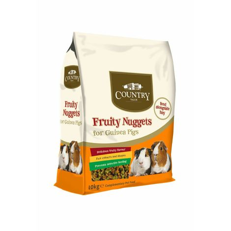 Country Value Fruity Guinea Pig Nuggets 10kg (10kg) (May Vary)