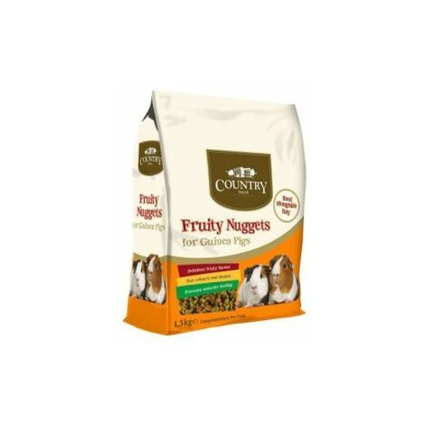Country Value Guinea Pig Nuggets 10kg x 1 (13890)