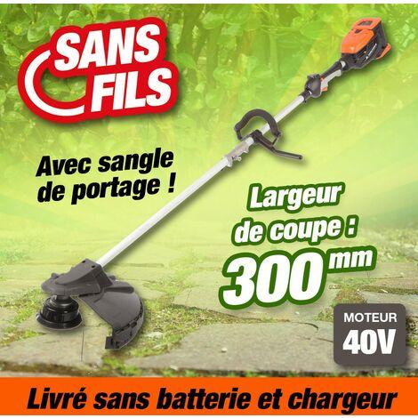 Coupe bordure à batterie rechargeable, largeur de coupe 30 cm