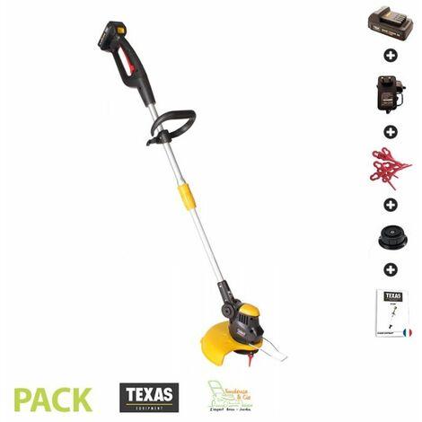 Coupe bordure sans fil pack batterie 18v et chargeur Texas Smart Trim 300