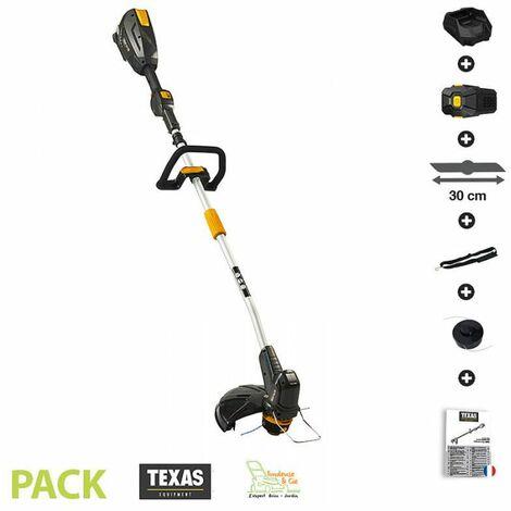 Coupe bordure sans fil sur batterie 4ah 58v chargeur tête fil débroussailleuse Texas GTZ 5800