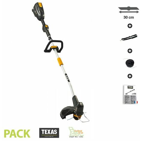 Coupe-bordure sur batterie coupe 30cm tête débroussailleuse automatique Texas GTZ 5800 sans chargeur ni batterie 58 volts
