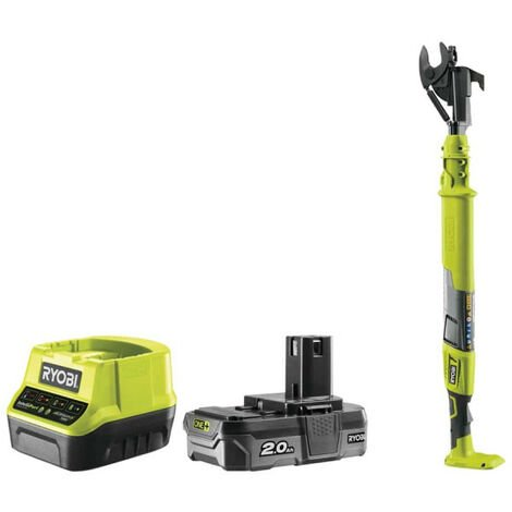 Coupe-branches 18V RYOBI OnePlus - 1 batterie 2,0Ah - 1 chargeur - OLP1832B-KIT