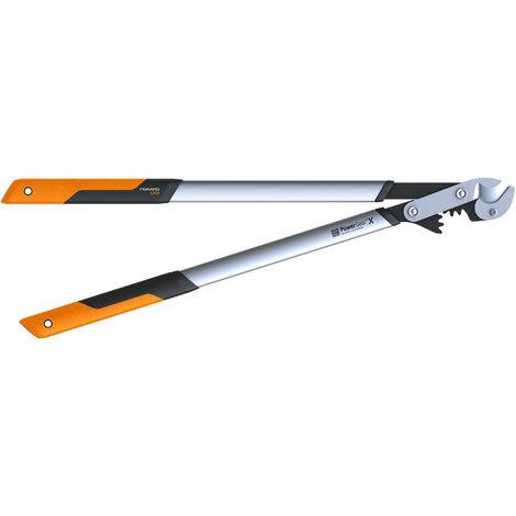Coupe-branches Fiskars Powergear X L à crémaillère et à enclume 80 cm - Ø 55 mm - Manches métal