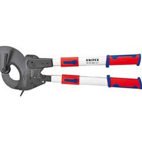 Coupe-câbles avec poignées télescopiques, Ø de la capacité de coupe : 60 mm, Section du conducteur 740 mm², Long. 630-830 mm