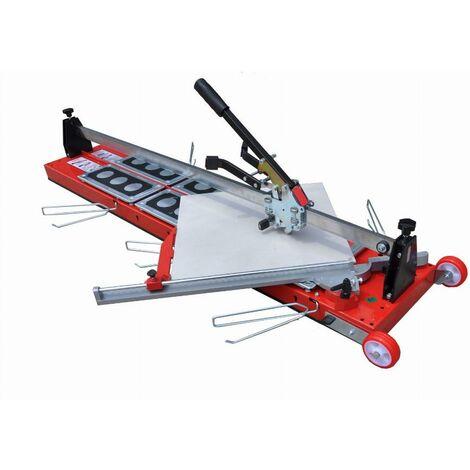 Coupe-carreau GigaCut Plus 1350mm hauteur réglable HEKA - pieds et guide laser - 014737