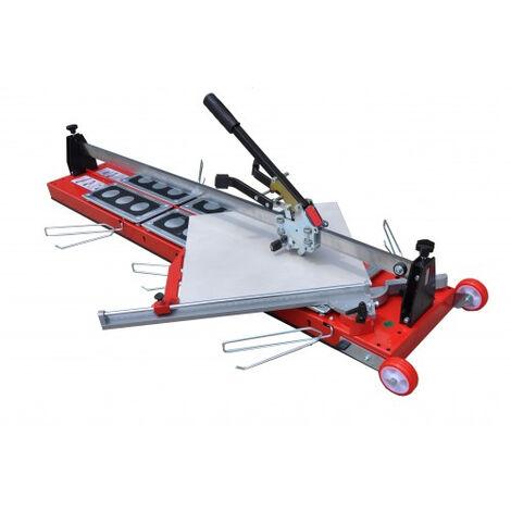 Coupe-carreau GigaCut Plus 1600 mm hauteur réglable HEKA - pieds et guide laser - 014738