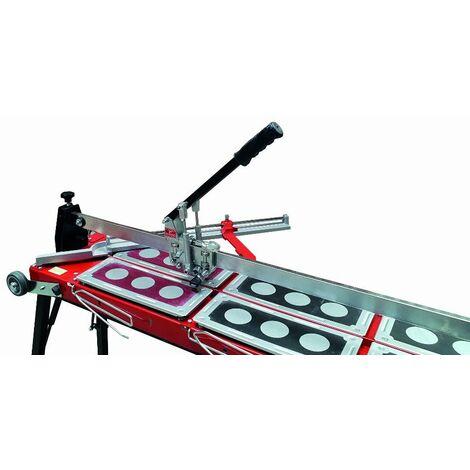 Coupe-carreau GigaCut Plus 935mm hauteur réglable HEKA - pieds et guide laser - 014736