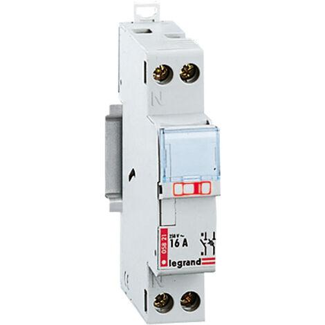 Coupe-circuit pour cartouche cylindrique domestique 1P+N 250V 16A - Legrand