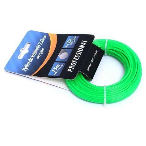 Coupe-herbe 2.0 mm / 15 m pour tondeuses à gazon