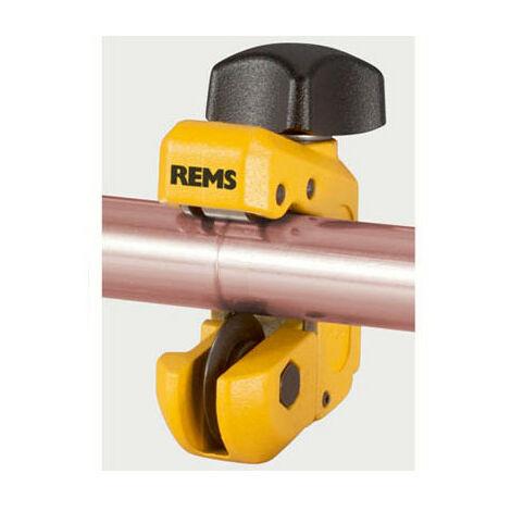 Coupe-tubes cuivre et acier inoxydable et électrozingué Ø3-28 mm S Mini - Rems