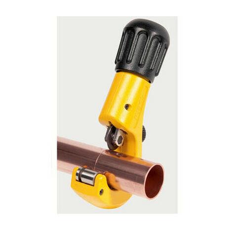 Coupe-tubes cuivre et acier inoxydable et électrozingué Ø3-35 mm avec ébavureur - Rems