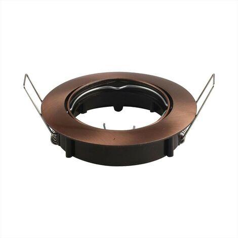 Coupelle Spot Orientable GU10 Chrome Vt-779 V-TAC