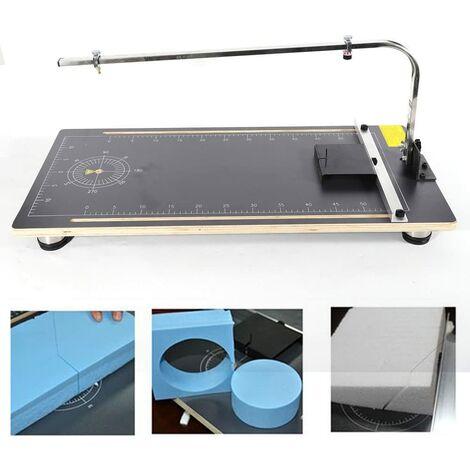 Coupeur de Mousse Electrique Machine de Découpe de Mousse Coupe Mousse à Fil Chaud pour Sculpture sur Mousse Modélisation Artisanat Bricolage