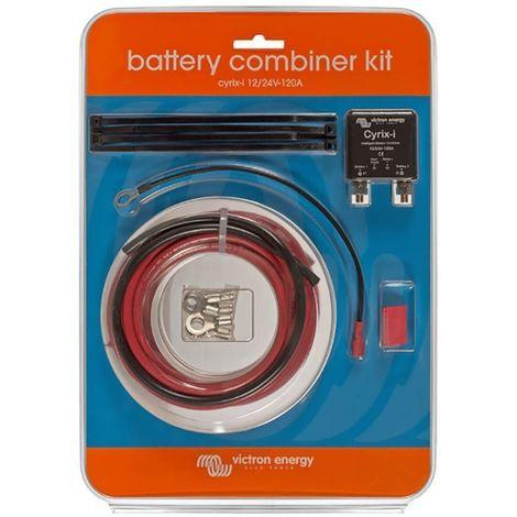 Coupleur de batterie cyrix-ct 12/24v 120a battery combiner kit - victron energy