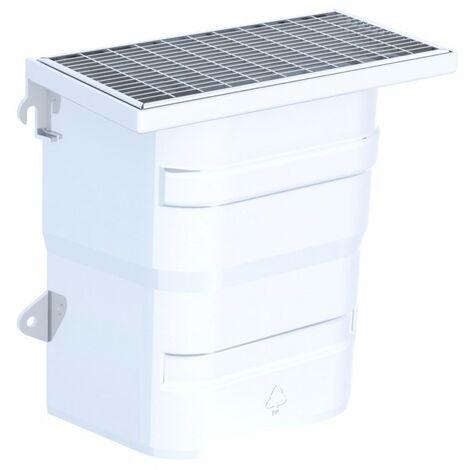 Courette d'aération / grille caillebotis maille 30 x 10 mm - ACO -