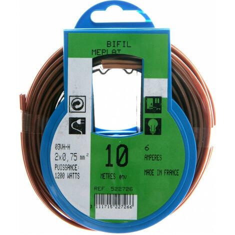 Profiplast PRP522716 Couronne de c/âble 5 m ho3vhh 2 x 0,75 mm Or