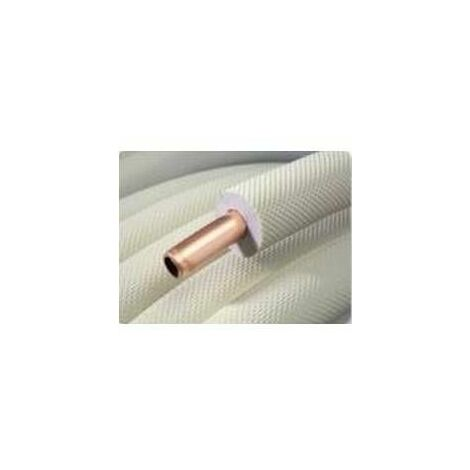 Couronne cuivre 25m 1/2 avec isolant
