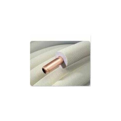 Couronne cuivre 25m 3/8 avec isolant