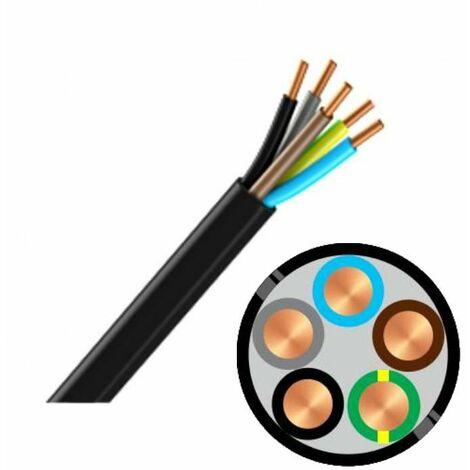Couronne de câble R2V 5G 1,5 mm² - 50 mètres