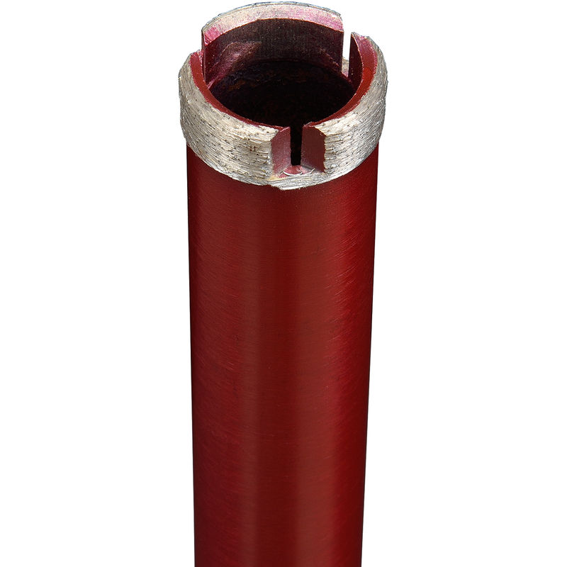 Couronne forage diamantée trépan carotteuse carottage humide sec béton 110x400mm