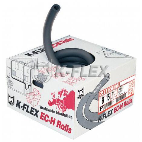 Couronne isolant non fendu sanitaire et chauffage 25 ML - épaisseur 13mm x Ø18mm