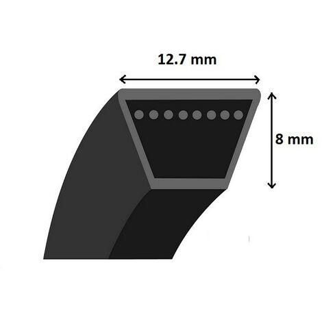 Courroie coupe / traction autoportée section 4L (2286mm)