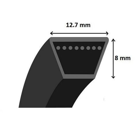 Courroie crantée trapézoïdale 4L690