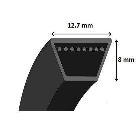 Courroie de coupe / moteur pour tondeuse autoportée, motobineuse, motoculteur, motofaucheuse