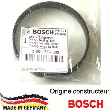 courroie dentée Bosch 2604736002