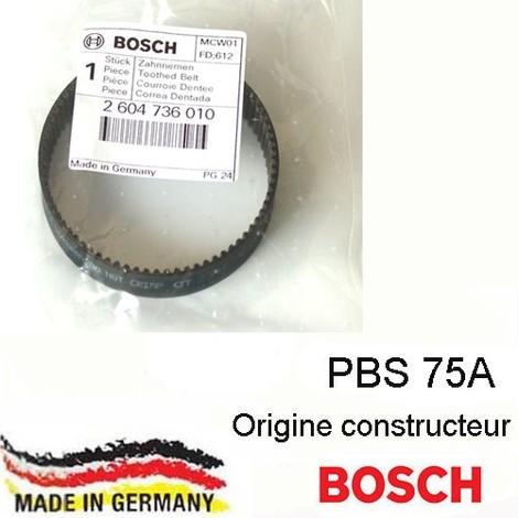 "main image of ""courroie dentée Bosch 2604736010"""