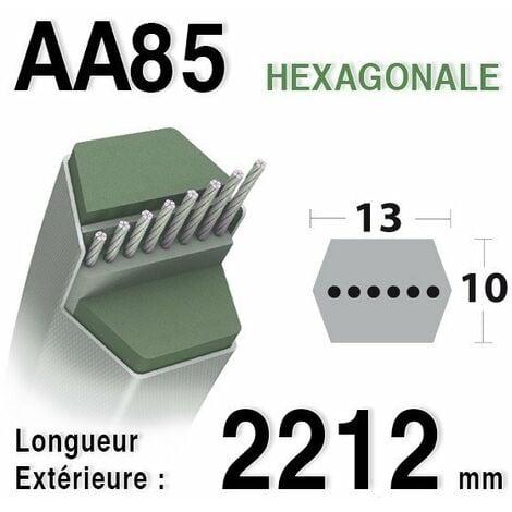 Courroie lame autoportée Castelgarden / GGP / Honda / Oleo Mac AA85