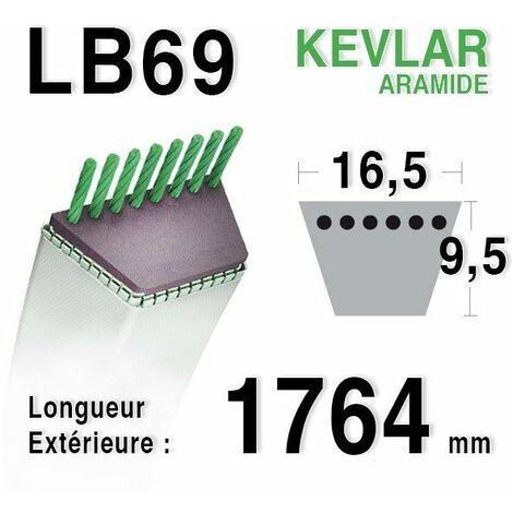 Courroie lb69 - 16,5 mm x 1764 mm