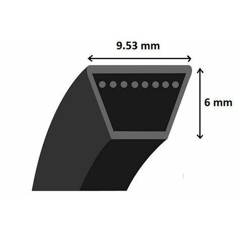 Courroie Shak section 3L aramide