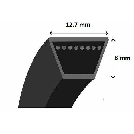 Courroie Shak section 4L62 aramide
