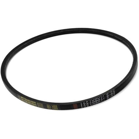 Courroie trapézoïdale B43 section 17x11mm Longueur extérieur 1159mm