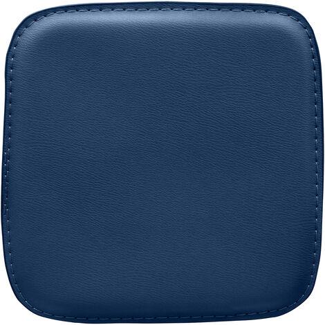Coussin avec aimants pour chaise carrée Tolix Style Marron