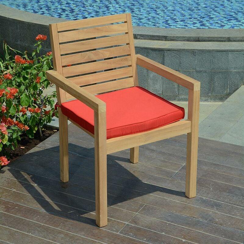 Coussin Rouge pour fauteuils fixes - Rouge