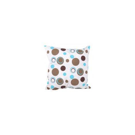 Coussin ''bulles Taupes'' 40 x 40 cm